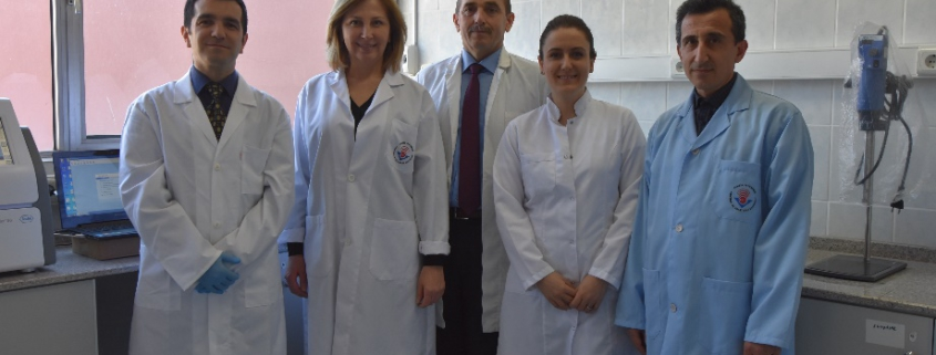 photo of the Umit Ozdemir's lab members